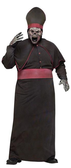 Costume de Grand Prêtre Zombie Grande Taille