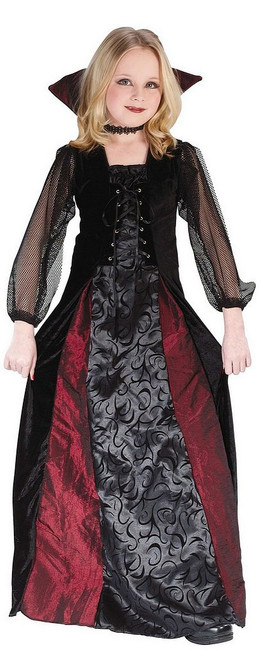 Costume Vampire pour Enfant Jeune Gothique