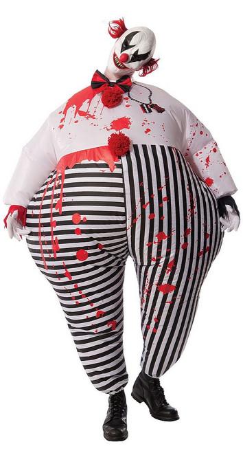 Costume de Clown Maléfique Gonflable