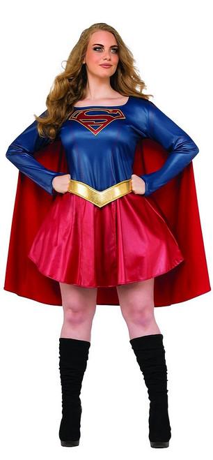 Costume de Supergirl grande taille de la série télévisée
