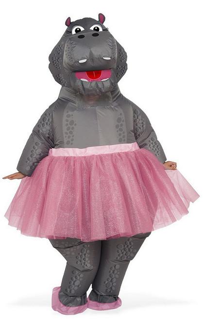 Costume d'Hippopotame Gonflable pour Adulte
