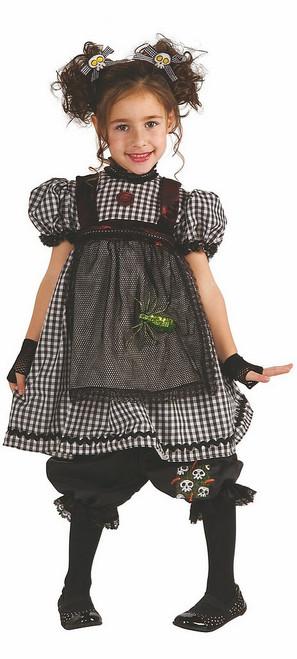 Costume de Poupée en Chiffon Gothique pour Fille