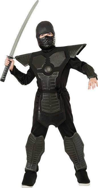 Costume de Ninja Eva Noir pour garçons