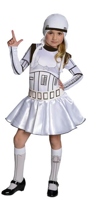 Costume de Storm Trooper pour fille