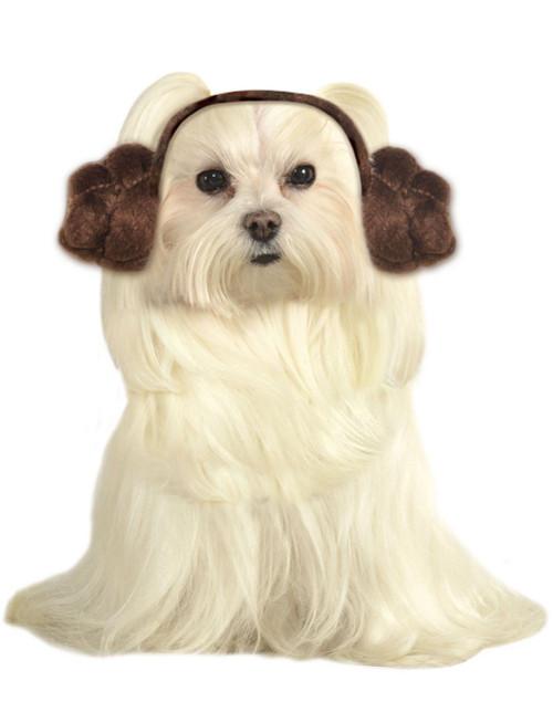 Serre-tête pour Chien de la Princesse Leia