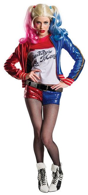 Costume d'Harley Quinn Suicide Squad de Luxe pour Adultes