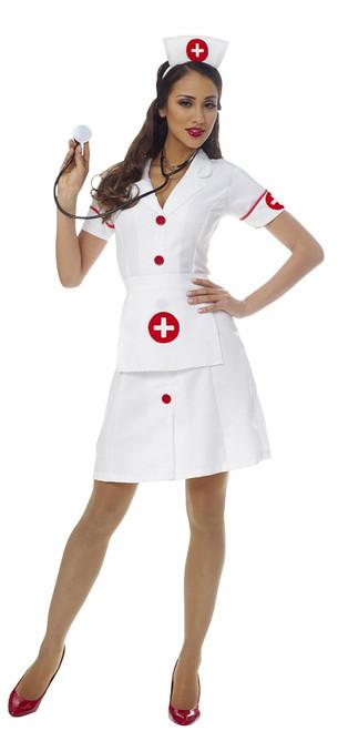 Costume d'Infirmière Classique pour Femme