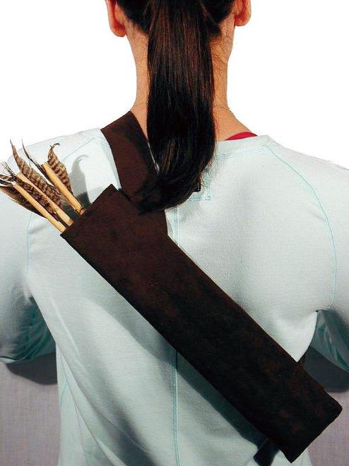 Carquois avec 3 flèches-style ceinture