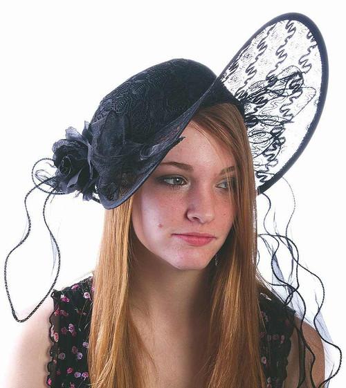 Chapeau Noir Séduisant du Derby