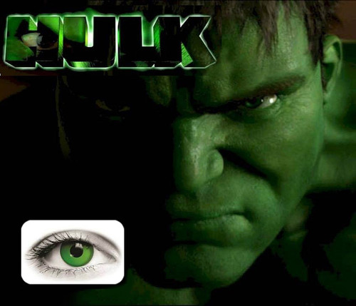 Lentilles de Contact Hulk