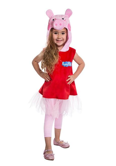 Costume de Peppa Pig Deluxe pour Toute Petite