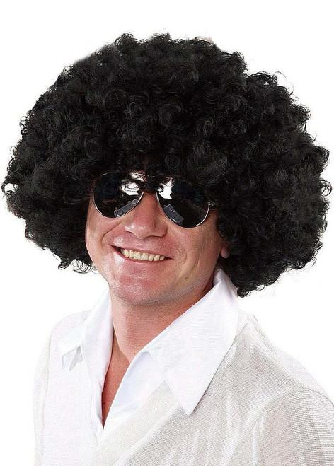 Perruque Noire Afro