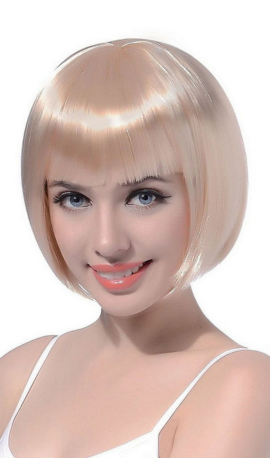 Perruque Bob Courte Blonde