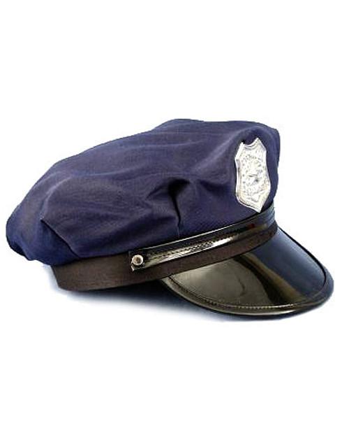 Casquette de Policier Bleue pour Adulte