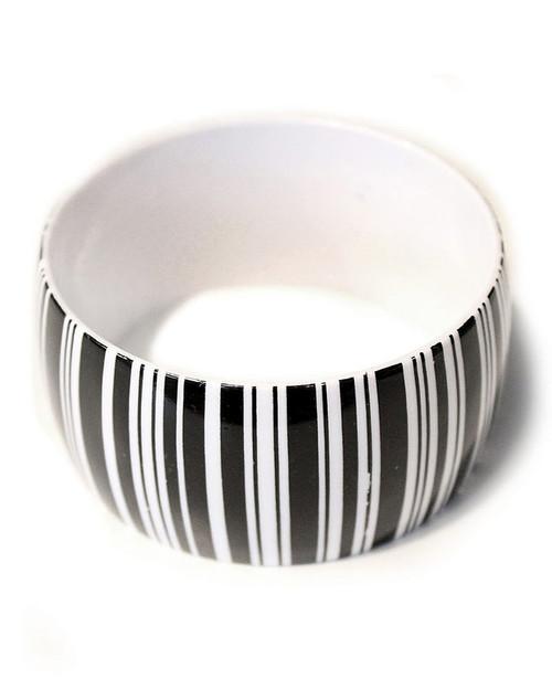 Bracelets Géométriques Noirs et Blancs Motif 3