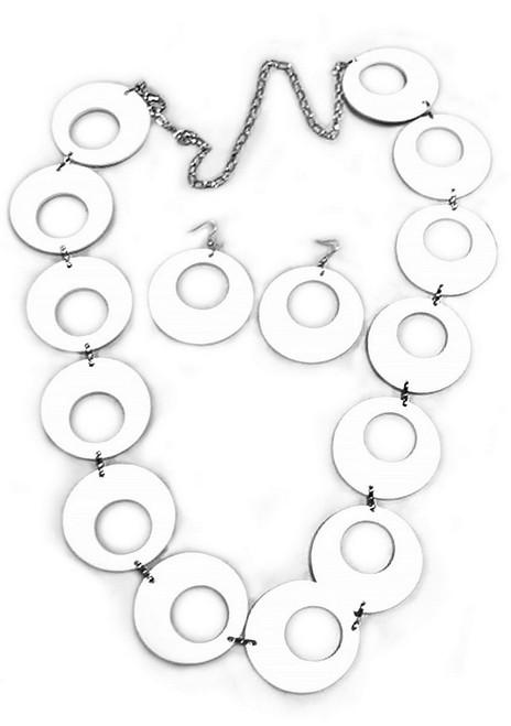 Ceinture Cercles Blancs