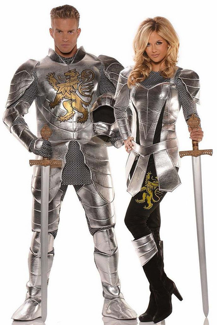 Costume de Couple Chevaliers Etincelant