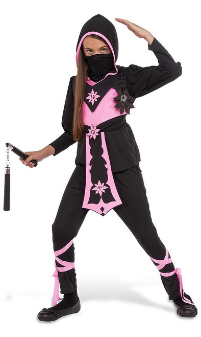 Costume de Ninja Cristal Rose