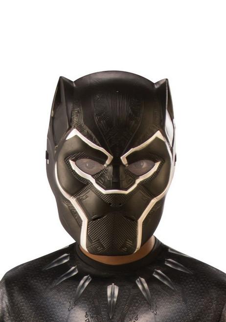 Demi Masque de Black Panther Enfant