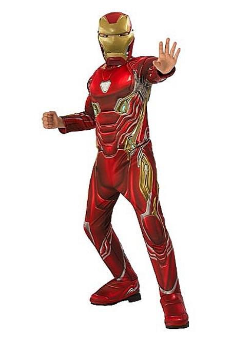 Costume d'Iron Man Infinity War Deluxe pour Enfant