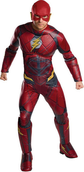 Costume de Flash Deluxe pour Adulte