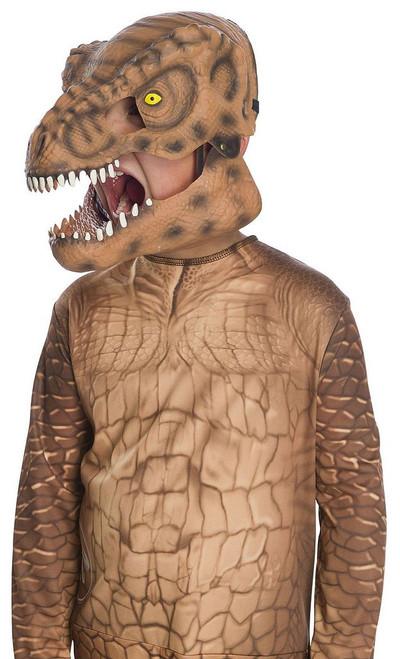 Masque de T-Rex pour enfant avec mâchoire mobile