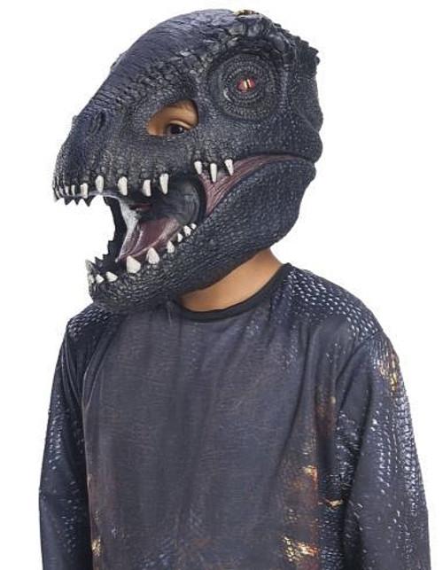 Masque 3/4 de Méchant Dinosaure pour Adulte