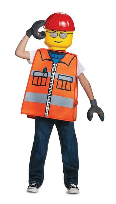 Costume d%u2019Ouvrier Lego Basique pour Enfant
