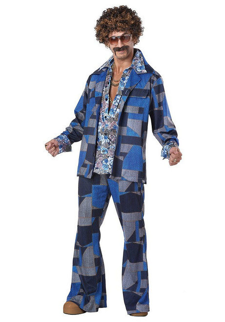 Costume Nuits Disco Boogie pour Hommes