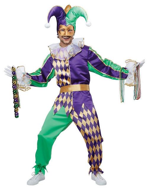 Costume de Bouffon de Mardi Gras