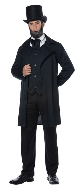 Costume d'Abraham Lincoln pour Adulte
