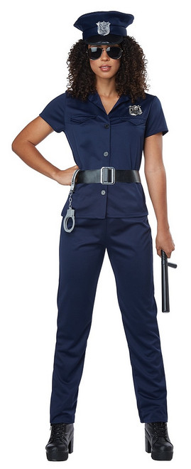 Costume de Policière Bleu Marine