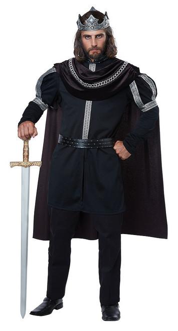 Costume de Monarque Médiéval pour Homme