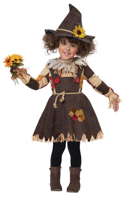 Costume d'Epouvantail du Champ de Citrouilles pour Bambin