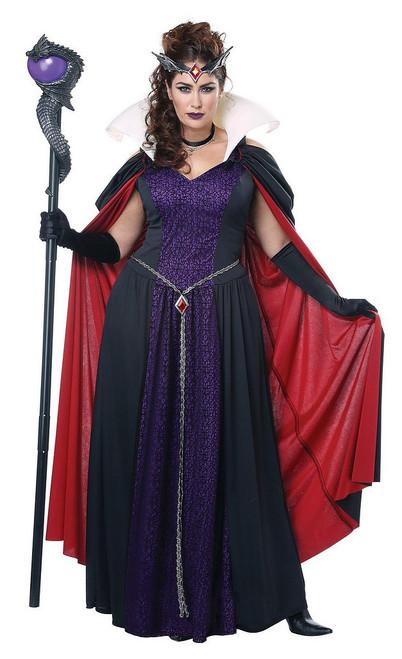 Costume de Reine Malefique pour Adulte Taille Plus