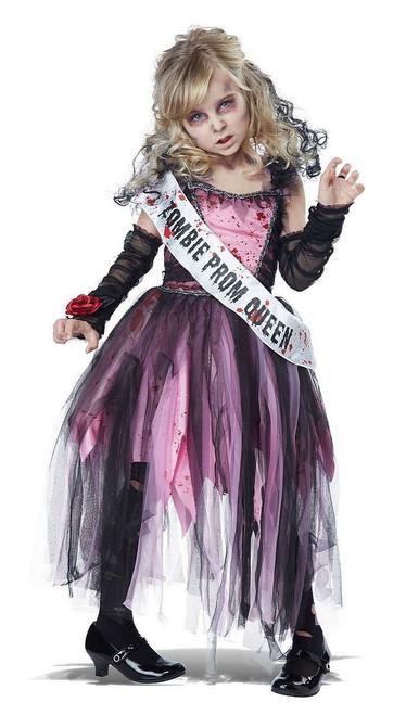 Costume de Reine du Bal Zombie pour Enfant
