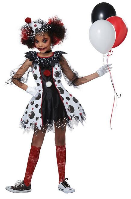 Costume de Clown Effrayant pour Fille