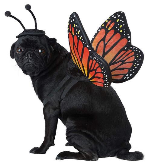 Costume de Papillon Monarque pour Chien