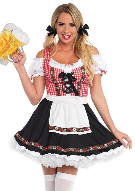 Costume Bavarois de Fille du Jardin de Bière