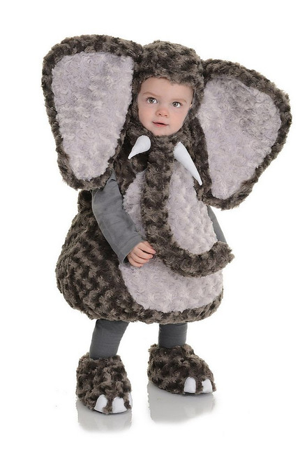 Costume d'Elephant en Peluche pour Bambin
