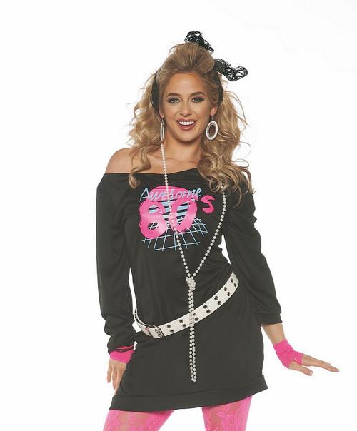 Tunique pour Femme Super Années 80