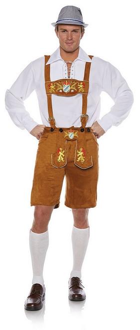 Costume Lederhosen d'Oktoberfest Adulte