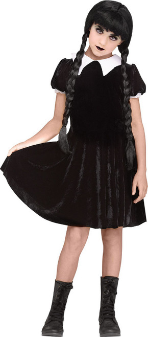 Costume de Wednesday Addams pour Enfant