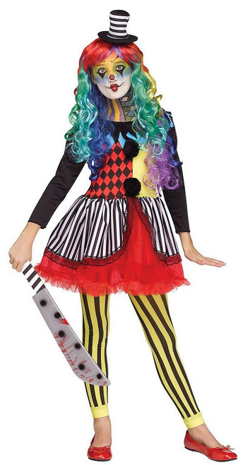 Costume de Clown Freakshow pour Fille