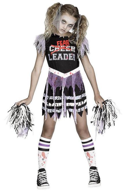 Costume de Fearleader Zombie pour Enfant