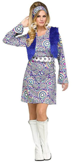 Costume pour Femme Gogo Shaggy Chic
