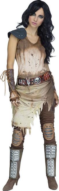 Costume de guerrière de l'Apocalypse