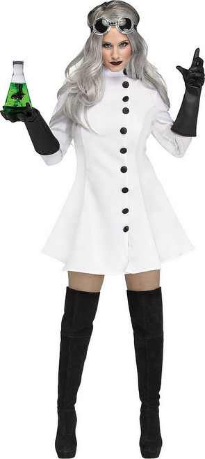 Costume de Scientifique Folle pour Femme