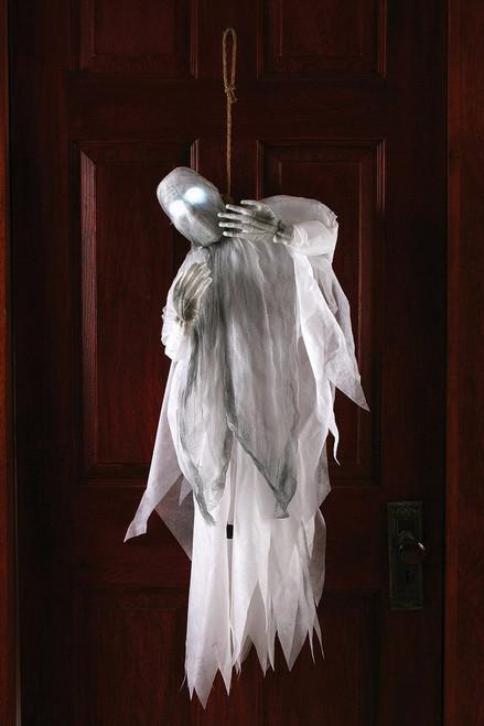 Décoration de 36 pouces Fantôme Etranglé Clignotant