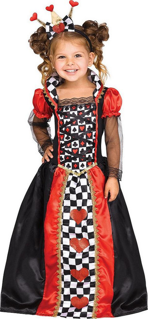 Costume de Reine de Cœur pour Fille